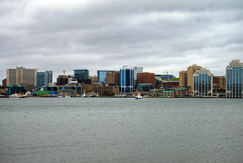The Halifax skyline is seen from King's Wharf in Dartmouth on Friday morning. Ryan Taplin - The Chronicle Herald