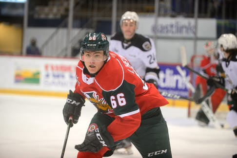 Halifax Mooseheads winger Zachary L'Heureux is ranked as a potential first-round pick for this weekend's NHL draft. - Jason Malloy