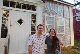Beth Bowers and Chris Dow bought this abandoned house in Port Medway in 2019. The couple moved from Toronto to the small Nova Scotia town just as the pandemic started in 2020.