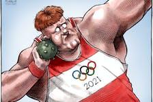Bruce MacKinnon's cartoon for July 22, 2021.