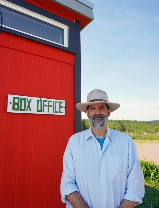 Ken Schwartz, artistic director of Two Planks and a Passion Theatre, is excited to get back to performing in front of live audiences at Ross Creek this summer. - Malachy Schwartz - Saltwire network