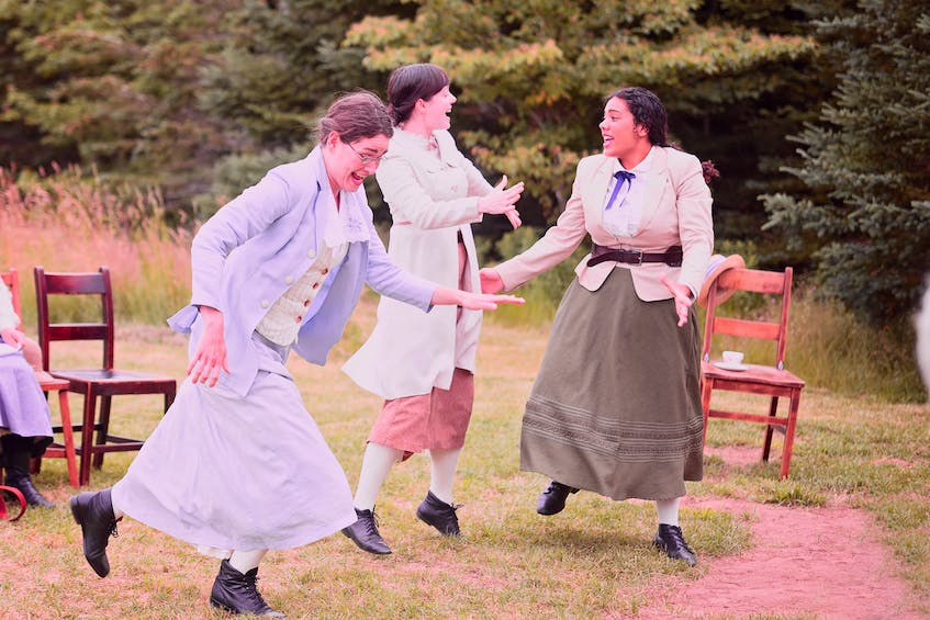 Schoolhouse, which will run from July 17 to Sept. 4, tells the story of a teacher in a one-room schoolhouse in 1938. - Photo by Claire Milton - Saltwire network