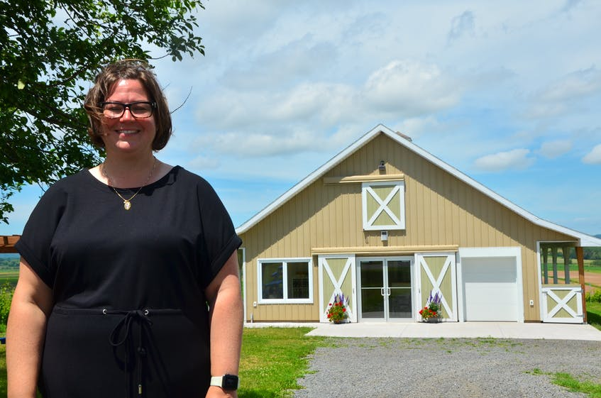 The building that houses the Beausoleil Farmstead's farm stay, cidery and winery also features a boutique — and once served as a horse barn before being converted. - Kirk Starratt