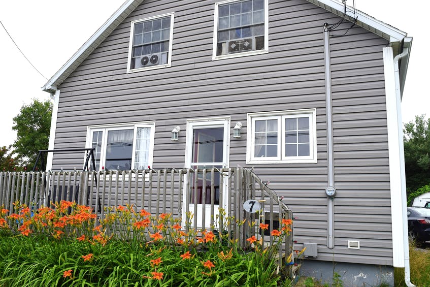 Shawna Wilson's home in Glace Bay. Wilson said if bank arrears aren't paid by the end of the month, foreclosure proceedings will begin. Sharon Montgomery-Dupe/Cape Breton Post