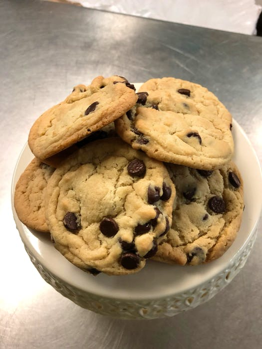 This tempting batch of chocolate chip cookies was baked by Dianne Fullerton, owner of the Borrowed Kitchen's Sugar Shack in Alexandria, PEI. Professional and amateur bakers alike offer up many variations and additions to the durable classic cookie, either by adding extras like oats, banana or raisins, or using different ingredients, such as rye flour.