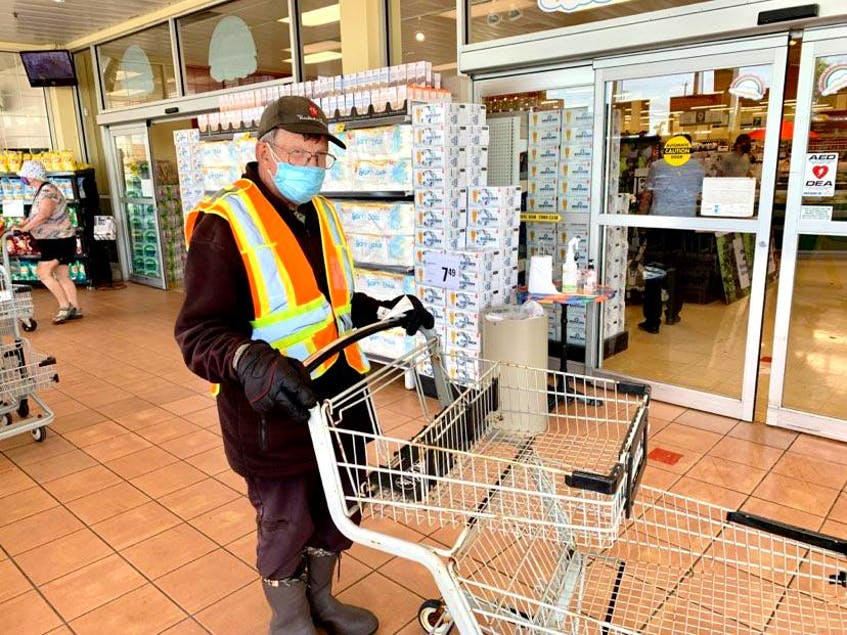 Marty Heffernan loves his job at Dominion supermarket, but after 48 1/2 years, the Maddox Cove man, who turns 65 July 21 has decided to retire. — Rosie Mullaley