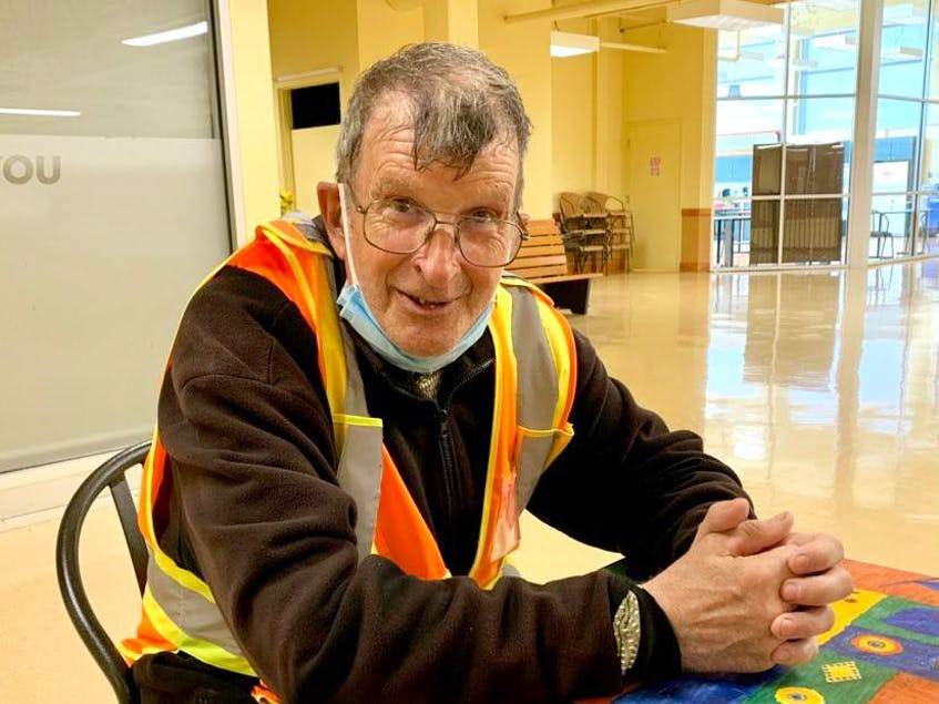 Marty Heffernan, 65, an employee at Dominion supermarket on Blackmarsh Road in St. John's, will retire July 23 after working 48 years with the company. — Rosie Mullaley