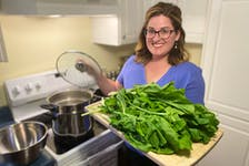 Blanching is a wonderful solution to preserving fresh homegrown greens. Paul Pickett photo