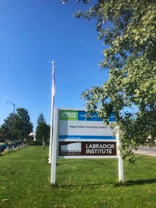 The Labrador Institute plans for moving forward on expansions have been delayed. — Contributed/Jamie Jackman