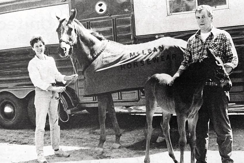 In 1986, Scotch Village's Pat and Gary MacLean were becoming quite well known for creating blankets and coolers for horses as well as customized horse trailers.