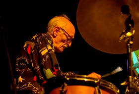 Jazz legend Jerry Granelli performs at the TD Halifax Jazz Festival in 2015. Granelli died this week at the age of 80. - Flickr Creative Commons/Glenn Euloth