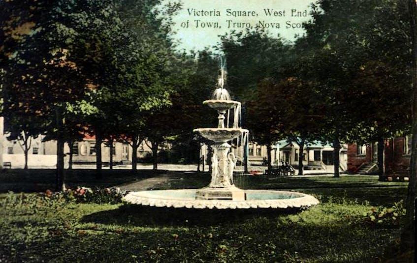 Victoria Square circa 1909.