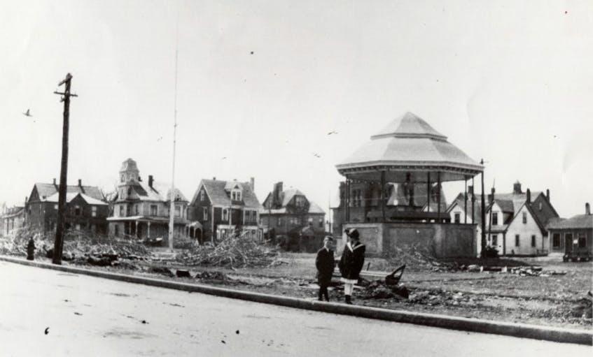 Victoria Square early 1900s.