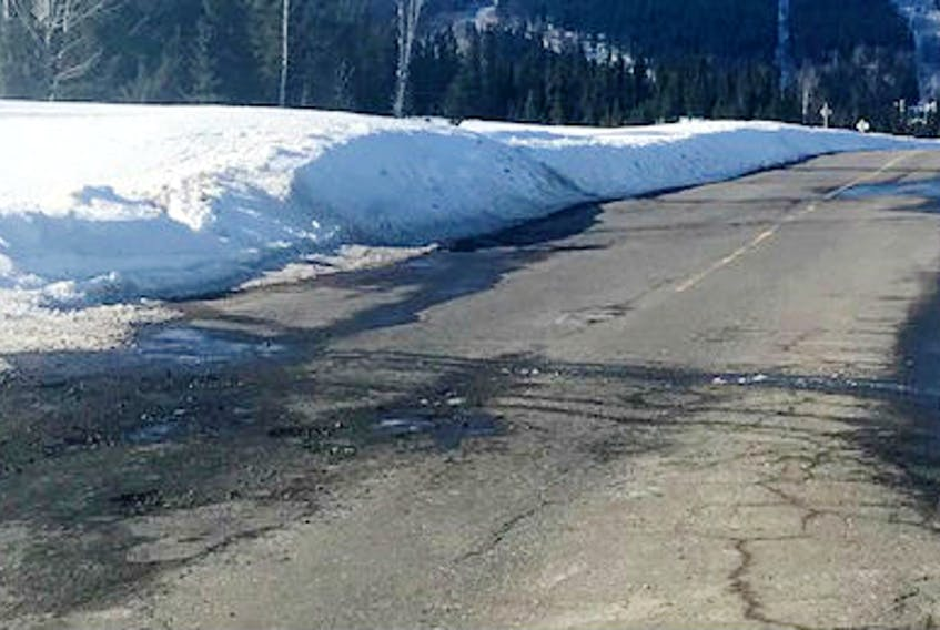 Roadwork on Route 520 in Labrador has been delayed again this year, which appears to be related to the provincial election. - FILE PHOTO