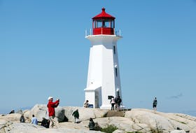 Tourists visit Peggys Cove in this file photo from July 2019. Eric Wynne - The Chronicle Herald