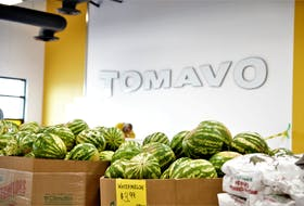 Tomavo has opened its sixth retail location in Woodside, where the store is packed full of fresh summer products like Annapolis Valley strawberries, and watermelon, all at affordable prices. - Photo Courtesy Sara Ericsson.