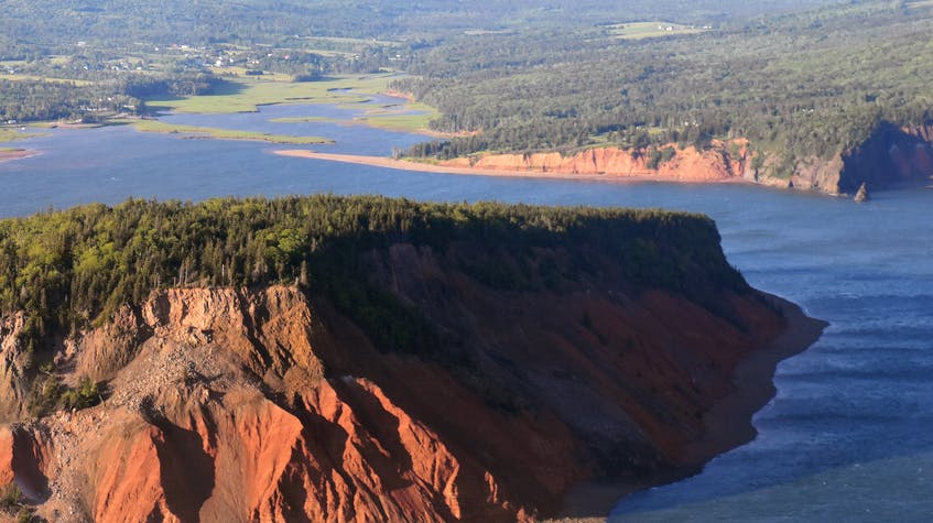 A view of Five Islands from behind Moose Island - Mercedes Blair - Contributed