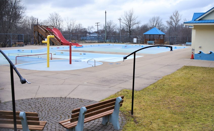 A look inside Victoria Park Pool prior to work starting. - FILE photo