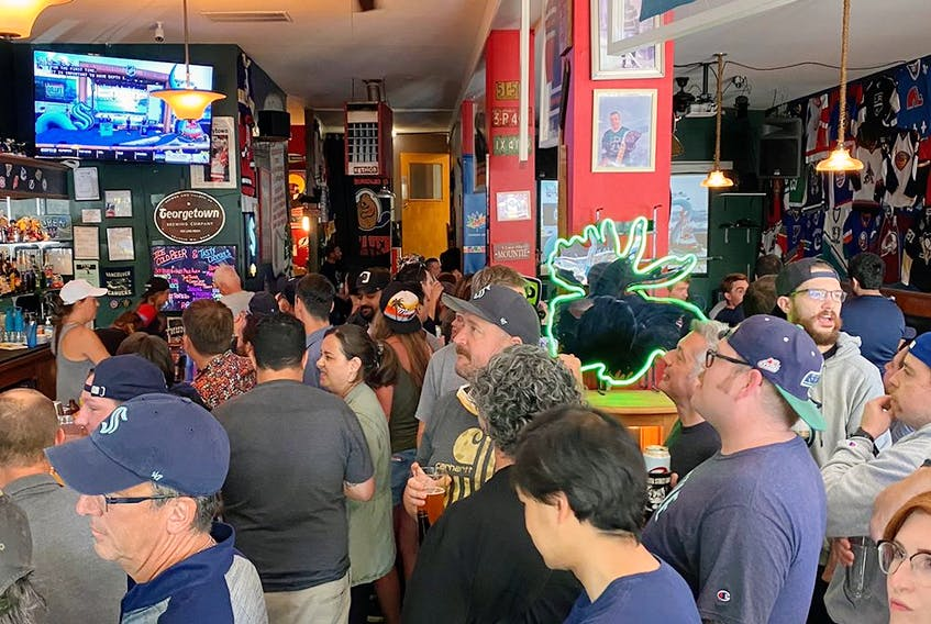 Wednesday was a big day for the Angry Beaver sports bar in Seattle.