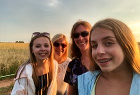 Jo-Ann Maynard enjoys sharing the places she finds to visit with others. Last summer she spent time in Fortune Bay with her daughter and some friends. From left, are Taylor Hartlen, Kim Hartlen, Jo-Ann Maynard and Amy Maynard.