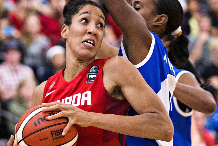 Canadian basketball player Miranda Ayim will be one of two flag-bearers for Canada.