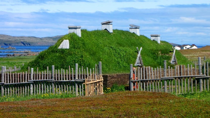 L'Anse aux Meadows is a Viking settlement located on the northernmost tip of Newfoundland.
