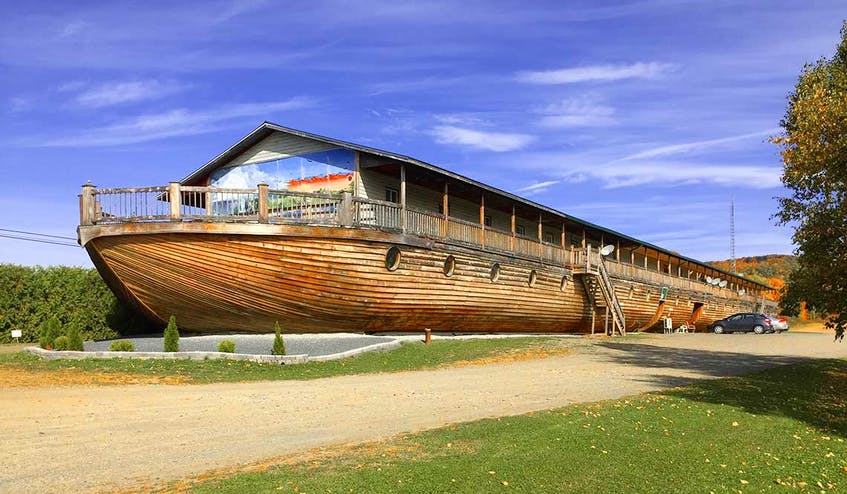 Have you ever thought about what it would be like to have lunch on Noah's ark? You can at a cafe in New Brunswick.