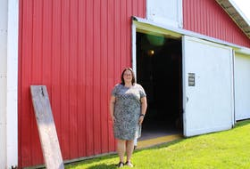 Andrea Parker is one half of the force behind Parker's Barn, a wedding and event venue in Hopewell, Pictou County.