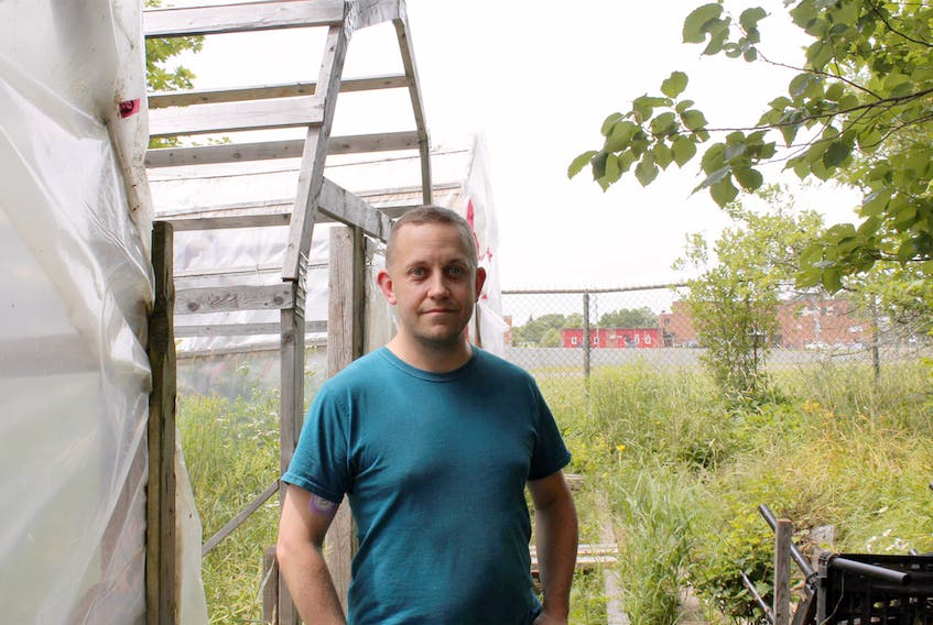 Mark Riggs is the sole proprietor of Super Hots Canada Food and Plants, located in Westville, Pictou County.