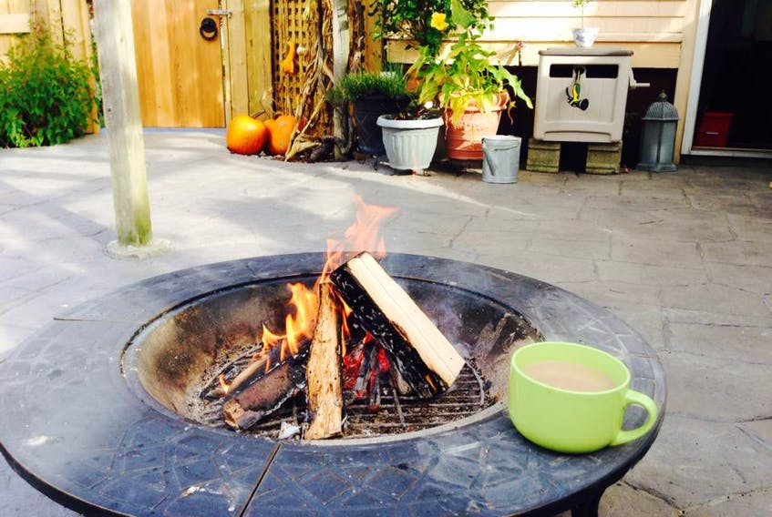 The use of firepits in the Town of Yarmouth, once banned, is being re-examined.  CARLA ALLEN • TRICOUNTY VANGUARD