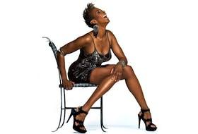Singer Shakura S'Aida. Photo by Denise Grant. Courtesy, FLi Artists/Folklore Inc.