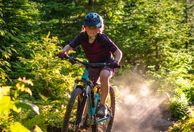 The Goldmine is one of Juliette Colbourne's favourite trails and it's one the Corner Brook girl will ride in August as she takes part in the Great Cycle Challenge Canada to fight kids' cancer. (Photo by Dennis Colbourne)