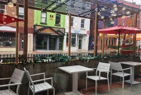 The St. John's pedestrian mall is a lovely place to be, even when it rains. — Pam Frampton/SaltWire Network