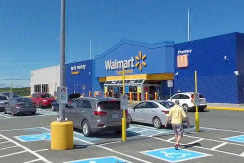 Wal-Mart on Stavanager Drive in St. John's.