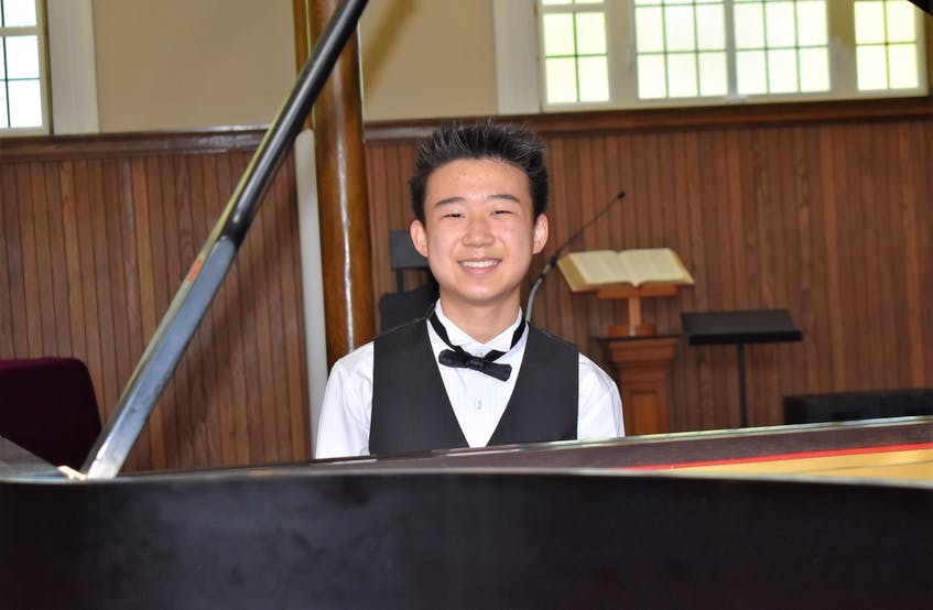 Among Devin Huang's numerous honours and accomplishments was being asked, in 2019, to play at the Lieutenant Governor's House. - Richard MacKenzie