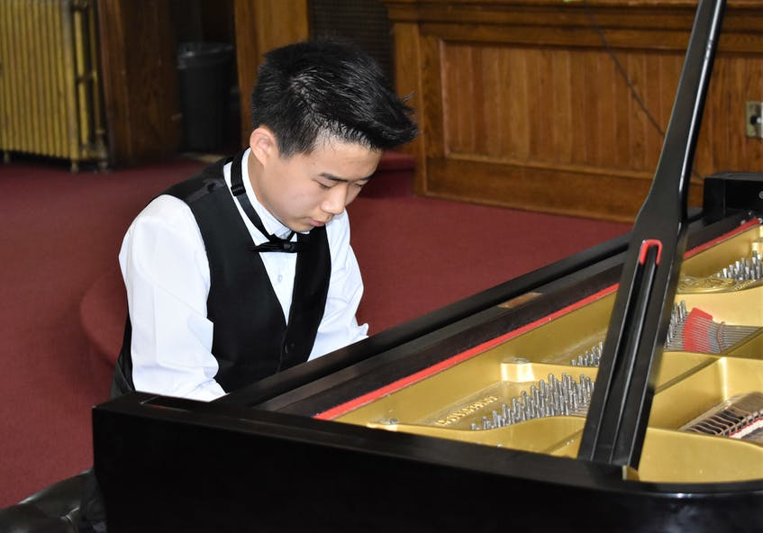 Last November, Devin Huang was invited by the Scotia Festival of Music to present a solo recital for their 2020-21 Chamber Music Series at the Peggy Corkum Music Room. - Richard MacKenzie