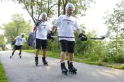 The #Courage21 Windsor to Ottawa Inline Skate Fundraiser to support Blind Hockey Canada takes place September 1.