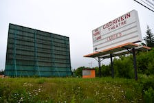 The grounds of the Cape Breton Drive-In Theatre in Sydney are quiet and bare this year. After 46-years of providing memories to families across the island, the owner has announced he is retiring and the business is for sale. Sharon Montgomery-Dupe/Cape Breton Post