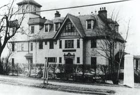 Shown here is the Ross family home.Contributed