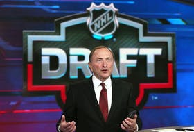 Commissioner Gary Bettman oversaw Friday night's first round of the NHL Draft.