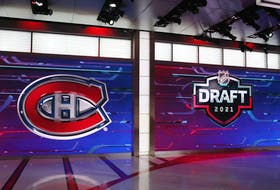 The Canadiens selected Logan Mailloux with the 31st overall pick in the first round of the NHL Draft Friday night.