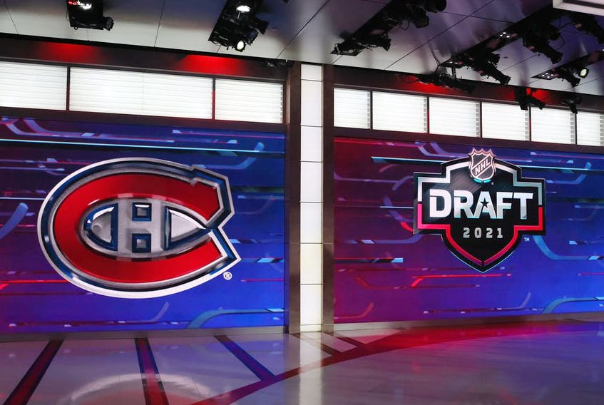 The Montreal Canadiens selected Logan Mailloux as the 31st overall pick in the first round of the NHL Draft on Friday night.