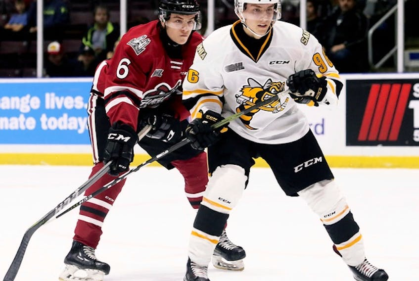 Forward Ty Voit was selected in the fifth round, 153rd overall by the Maple Leafs on Saturday.