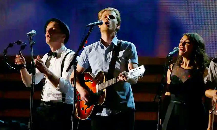In this file photo, the Lumineers perform at the 2016 Grammy Awards. — Mike Blake/Reuters file
