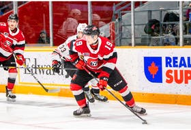 Jack Beck of the Ottawa 67's was chosen by the Calgary Flames in the 2021 NHL Draft.