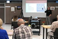 Dr. Ken Buchholz covered topics about heart health on July 9 at NSCC Middleton. Contributed
