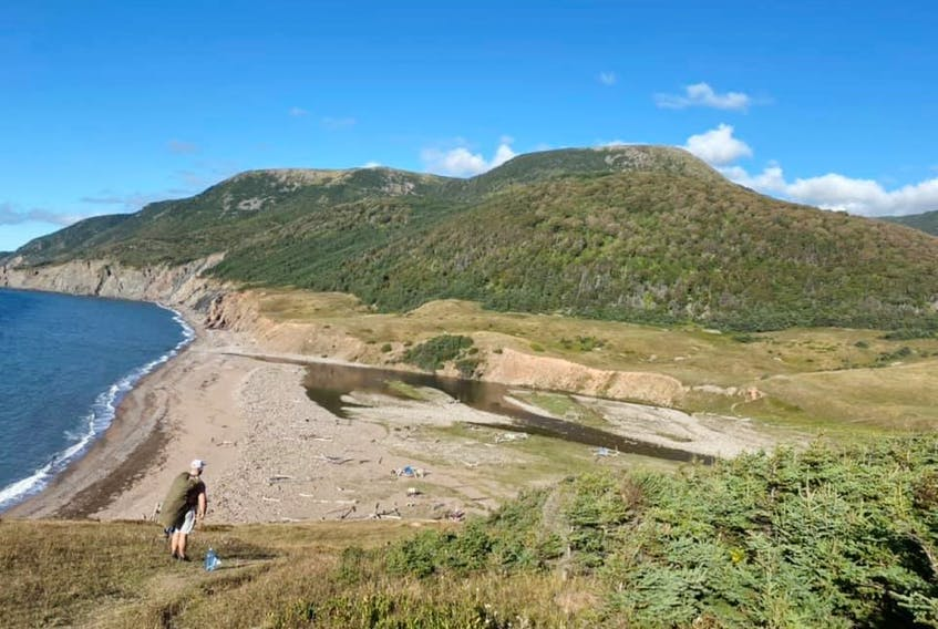 Located in Red River, Nova Scotia, Pollet's Cove is a three- to five-hour hike one way - but the view is worth every step.