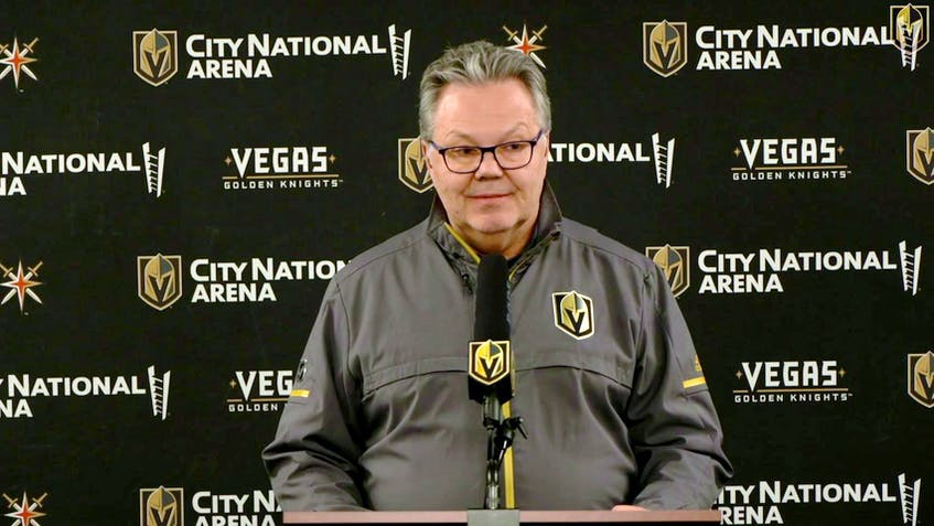 Vegas Golden Knights general manager Kelly McCrimmon. — File/NHL.com photo