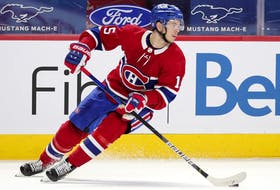 The Canadiens' Jesperi Kotkaniemi is coming off a three-year, NHL entry-level contract worth US$10.275 million with an annual salary-cap hit of $925,000 and is a restricted free agent.