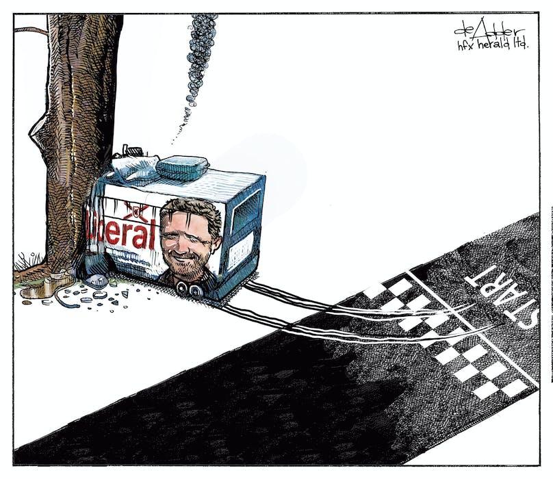 Michael de Adder's cartoon July 27, 2021. - Michael de Adder